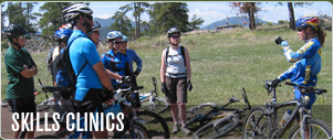 Mountain Bike Skills Clinics